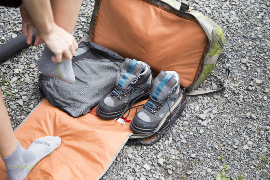 Fishpond Yellowstone Wader/Duffel Review